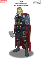Thor by Kyle-A-McDonald
