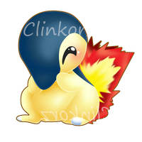 Cyndaquil v2 by Clinkorz