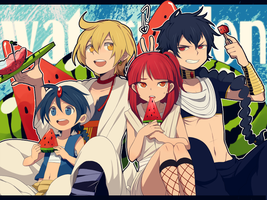 Magi :: Watermelon by Cartooom-TV