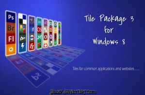 Tile Package 3 for Windows 8 by jawzf by jawzf