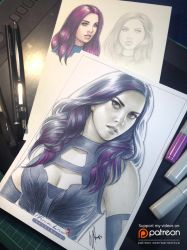 Psylocke by WarrenLouw