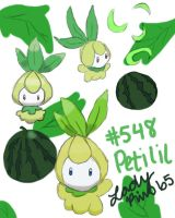 New Project Pokedex: #548 - Petilil by LadyRin65