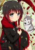 Ruby and Zwei by cakeroll