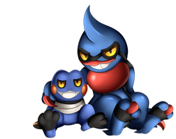 Comm: Croagunk and Toxicroak