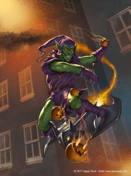 Green Goblin by jasonjuta