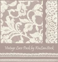 Exclusive Vintage Lace Pack by XiuLanStock
