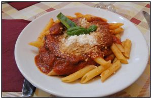 Penne alla Norma by Corycat