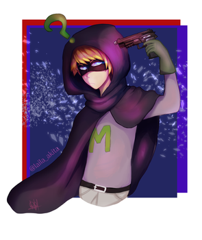 Mysterion South Park by laila-akita1