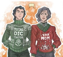 Christmas with Beifong by Terra7