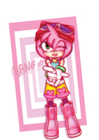 Amy Rose by Blacxey