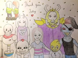 UnderTale by Tortoise01Swe