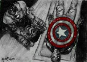 Ironman -C.America - Charcoal by vurdeM
