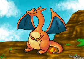 Charizard by Dragonfunk7