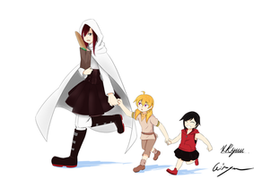 [RWBY] Following Mom by AikiYun