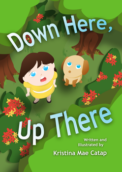 Down Here, Up There (Children's Book Cover) by ChanKei