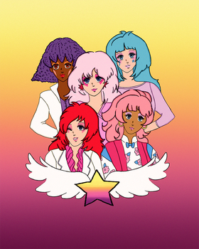 Jem and the Holograms by CaptainSpaceout