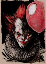 It - Pennywise the dancing clown by Hyxs