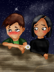 Code Lyoko Fanart #2: Under The Stars by ChibiGirl909