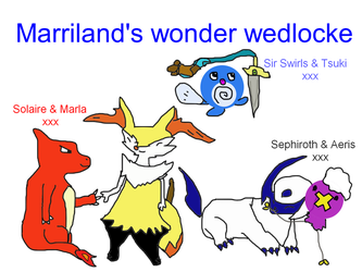 Marriland's Wonder Wedlocke by WeazelWolfieSkyBones