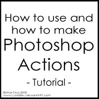 How to use and make P. Actions by Lune-Tutorials