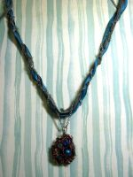 Robins Egg Necklace by Ideas-in-the-sky