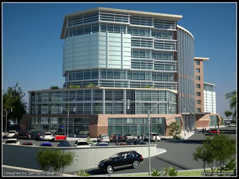Office Building Part 1 by Semsa