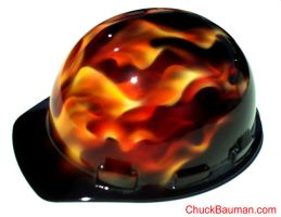 True Fire Flames Airbrushing by crb1177