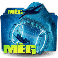 The Meg movie folder icon by zenoasis