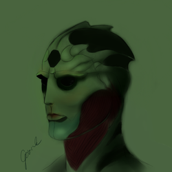 Thane Krios by Gosiak95