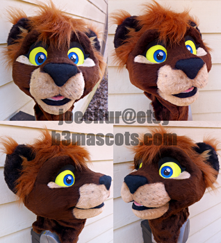 Sora Lion Cosplay (for sale!) by joecifur