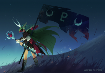 Sailor Pluto by mariposa-nocturna