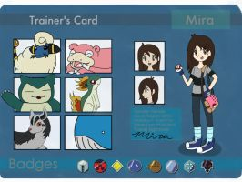 Pokemon Trainer Card by moonshoespotter123