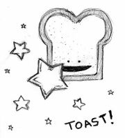 Epic toast by zombiepencil