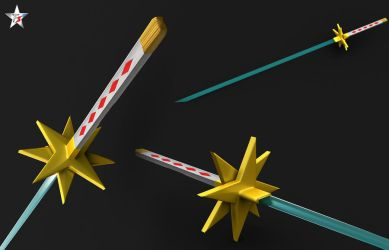 Two Star Sword by Mustang47