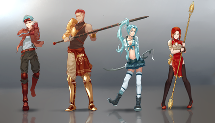 Commission : OCs - #1 by dishwasher1910