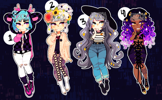 (closed) Set Price Babes by Kariosa-Adopts
