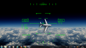 Invasion of Airspace Rogers1967 Rainmeter by Rogers1967