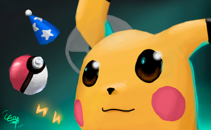 Pikachu by CC3TheArtist