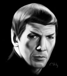 Icons Leonard Nimoy 01 by pagandevil