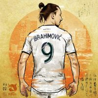 Zlatan Ibrahimovic Illustration by akyanyme by akyanyme