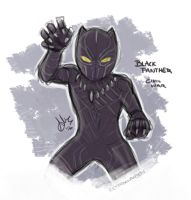 Black Panther by sexyfairy