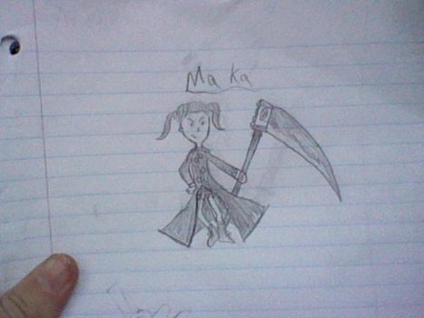 Maka sketch by Griffen78