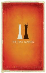 The Two Towers Chess by BarbarianFactory