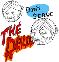 Don't Serve the Devil by oLimeo