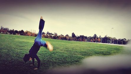 Looks like handstand but it's not by KayserTXR