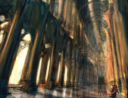 Lost Cathedral by fallstrider