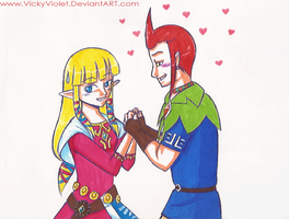 SSS: Zelda and Groose by VickyViolet