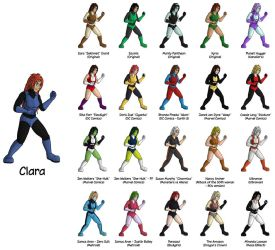 Clara the Fighter by feadraug