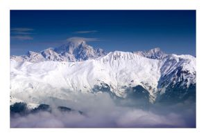 Clowdy Mountains by Marking2
