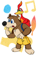 Banjo and Kazooie by eKarasz
